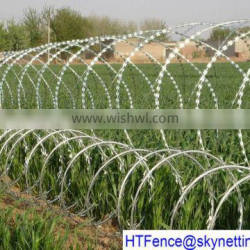 cheap galvanized razor barbed wire bto-22 30 cbt-60 65(ISOfactory)
