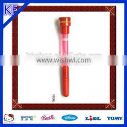 Design LED Light up pen with bubbles and stamp