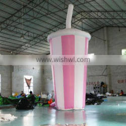 Inflatable soda cup for sale,inflatable coke cup for advertising