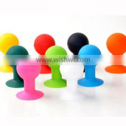Silicone cellphone sucktion stand, Cellphone sucker stand, Promotional mobile phone sucktion stand holder, PTP054