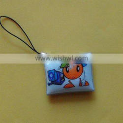 customized logo mobile phone cleaner strap