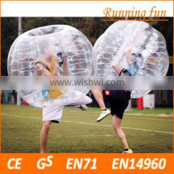 Hot!! best selling TPU/PVC clear inflatable ball, inflatable body zorbing ball for kids,inflatable bumper bubble ball