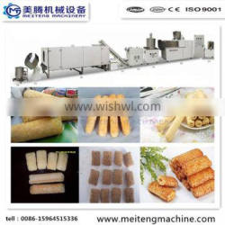 Automatic core filling snack food processing line/filling core snack processing line