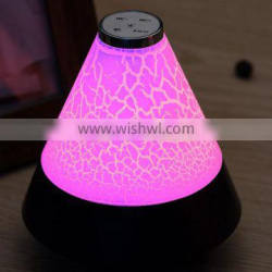 Promotion Home Office Mini Colorful light Best Gift Music wireless jhw-v169 bluetooth speaker with led light