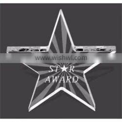 Star Acrylic Award Crafts