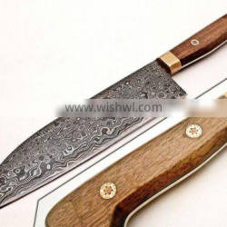 Custom made Damascus Steel Chef knife PDS-1047