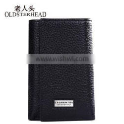 Multi-function wallets genuine leather key holder and card use purse.