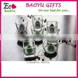 high quality hanging glass candle holders,Candlestick Vase Wedding , ball glass Home Decor Hanging