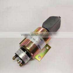 New 24V Fuel Stop Solenoid SA-3838-24 For CUMS Engine