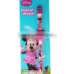 Cartoon gift kids digital watch for girls