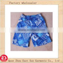 2014 newest hot selling boys beach pant coloful beach wear