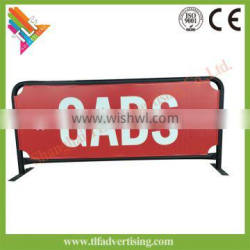 Hot Sale Steel Street Economy Cafe Barrier for Advertising