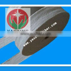 YAOXING ceramic fiber tape with ss wire for furnace curtains