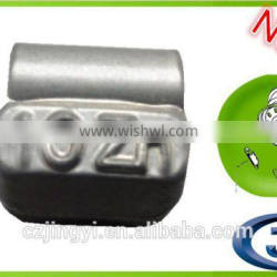 FN series Zn spray coated clip on wheel weights used for alloy rims