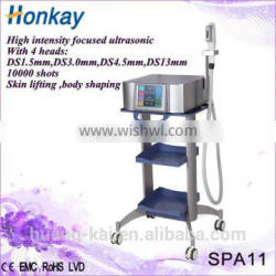2016 face lift beauty machine/ High Intensity Focused Ultrasound