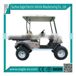 farm utility vehicle, electric, 2 seats with cargo box, offroad tires, EG2020T