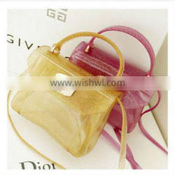 2015 New hot products clear PVC messager cosmetic bag for ladies