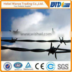 weight barbed wire/double twist barbed wire/for boundry