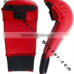 Red Color Karate Mitts