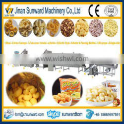 Hot Selling Puffs Maize Food Processing Line Machinery
