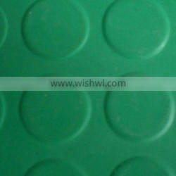 from 3mm to 6mm thickness Round button rubber sheet