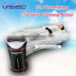 2016 hotsale Hot selling body fat reduction pressotherapy lymphatic drainage body slimming machine