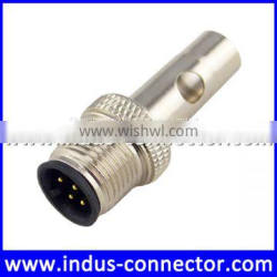 4 pin male m12 d code rated current straight copper low voltage ip67 protection class