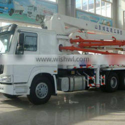 HONGDA Truck Mounted Concrete Pump 39m