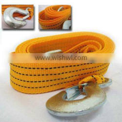 4m 3ton Car Vehicle Boat Tow Strap Towing Rope Hauling Cable String with Hooks