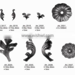 Forged & Cast Wrought Iron Ornaments of Wrought Gate/Fence/Stairs/Railing Art.2015-2029