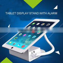 Retail Store Tablet Security Alarm Stand With Inner Battery