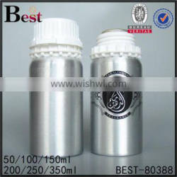 200ml 300ml 500ml essential oil use, cosmetic packaing, chemical use aluminum bottle Quality Choice