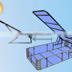 China manufacturer high quality gas spring for bed(ISO9001:2008)