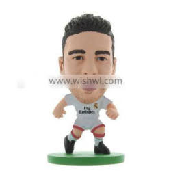 Custom Suarez plastic football figure, Make plastic football player figure Suarez,Plastic big head plastic football figure