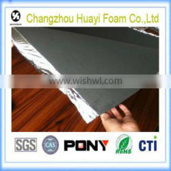 closed cell polyethylene foam flooring underlayment foam with aluminum foil