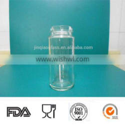 90ml spice clear glass bottle