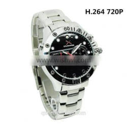 HD 720P Video Recorder Mini DV LED Watch Hidden Camera with Optional Memory Quality Choice