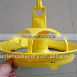 plastic poultry pan feeding system automatic duck feeder