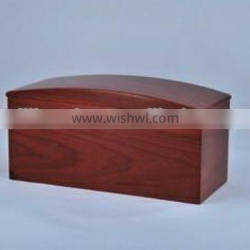 Competitive price solid poplar funeral supplies wooden urn cremation