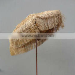 Umbrella Type and Bamboo Pole Material Thatched Roof Straw Cover umbrella