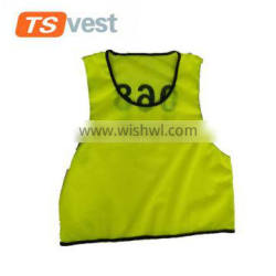 New design yellow vest for children security kids vest