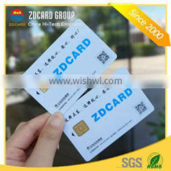 Factory price high quality plastic smart contact ic card