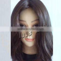 2014 new fashion top quality factory price dyeable virgin hair jewish wig