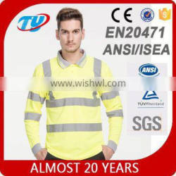 long sleeve TYT-003 new product good quality reflective safety shirt