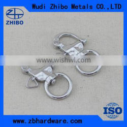 Rigging hardware stainless steel shackle swivel eye snap shackle with factory price