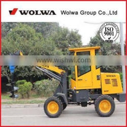 1.5ton 1.6ton 1.8ton mini auger drilling loader machine from factory supplier