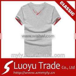 Wholesale classic single color t-shirt