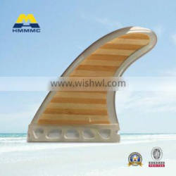 Mix Bamboo surfboard fins