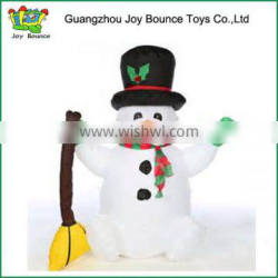 funny airblown inflatable christmas big snowman 2015