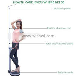 Clinical Health Height and Weight Digital Scale touchless measurements instantly bioelectrical impedance analysisi (BIA